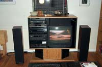 System and front speakers, June 2001