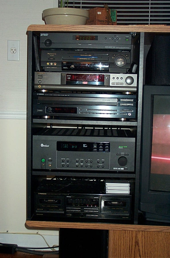 Old Home Theater System Pictures Image