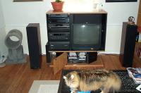 March 2002 -- the VCR moved out of the way