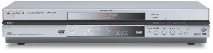 panasonic dmr e80h user review rh prillaman net Panasonic DVD Recorder DMR E65 Panasonic Professional DVD Recorder