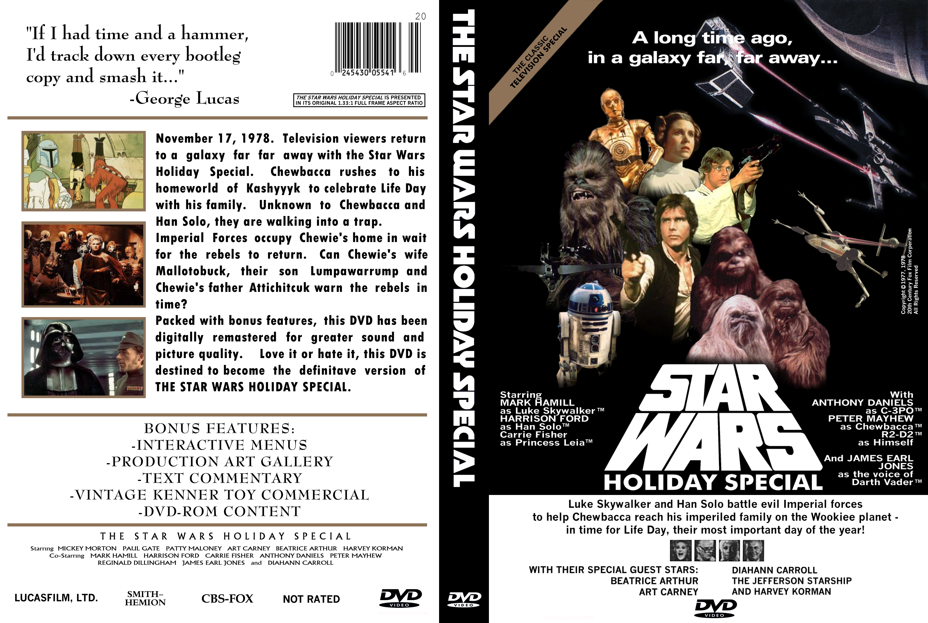 The Star Wars Holiday Special movie