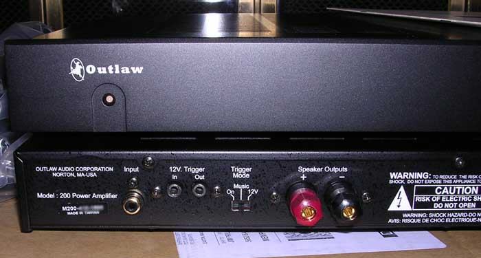 Outlaw Audio Model 200 Amplifier User Review