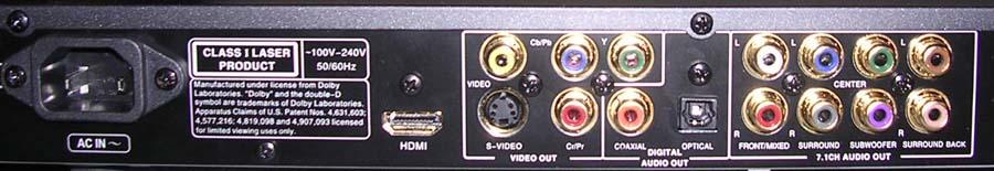 Oppo dv-980h upscaling dvd player 7. 1 hdmi 1080p cd dvd-audio pal.