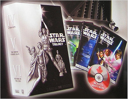 Star Wars Vhs Box Set. for the trilogy ox set,